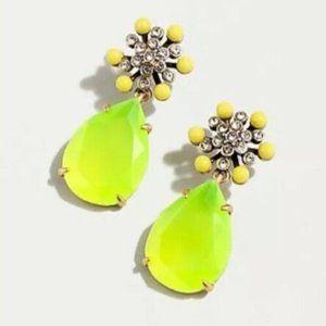 🔥 NWT JCrew Star Flower Pave Earrings